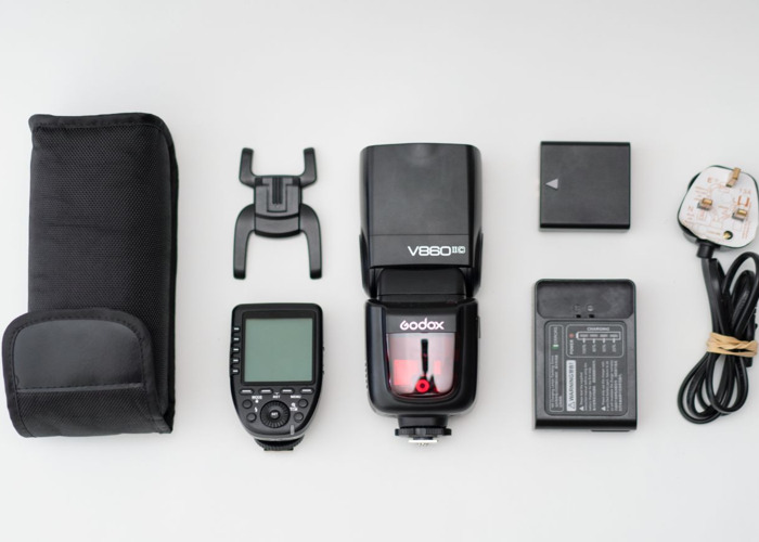 Godox V860IIC & XPro Transmitter - for Canon - 1