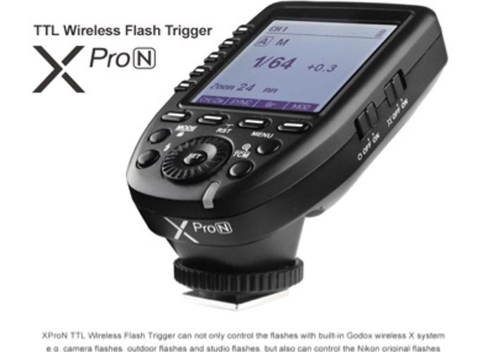 Godox XPro N - Nikon trigger + Batteries - 1