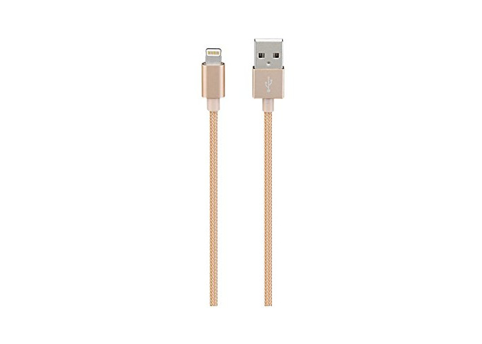 Goji 1m Micro USB Braided Cable - Rose Gold - 1