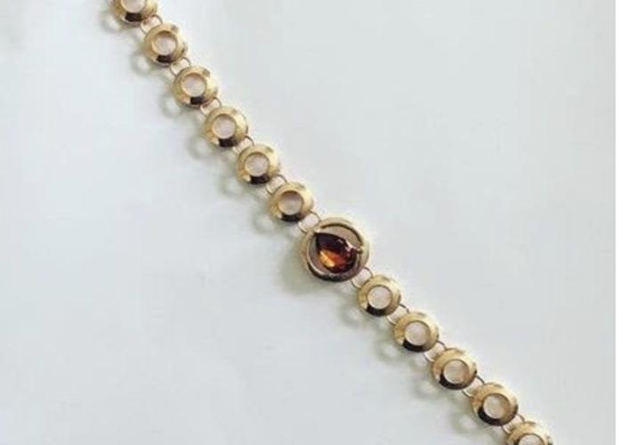 Gold ring bracelet fashion - 1