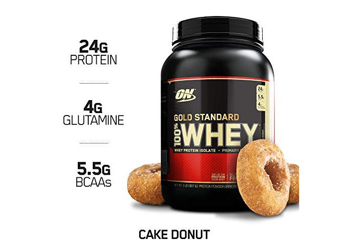 Gold Standard 100% Whey 2lb - Cake Donut - 1
