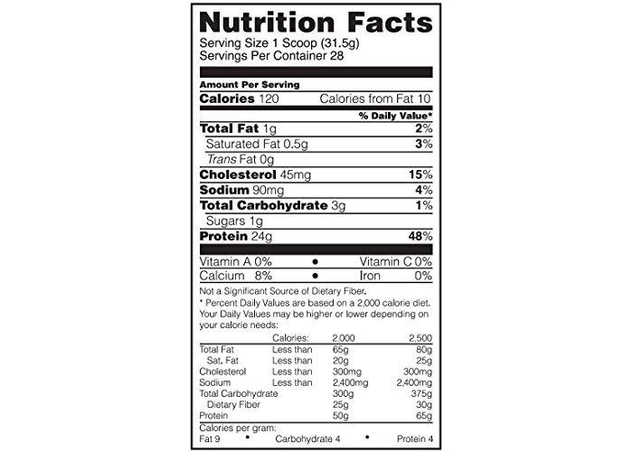 Gold Standard 100% Whey 2lb - Cake Donut - 2