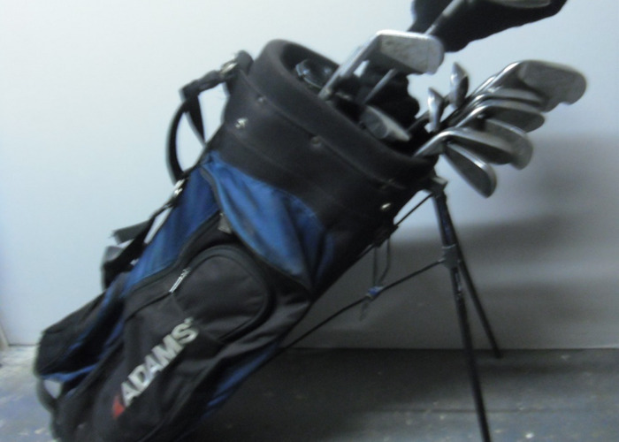 Golf Clubs, Full set and Bag - 1