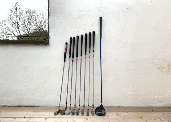 Golf Clubs (Taylormade RAC, Cleveland ZIP, Cobra Speed LD) - 2