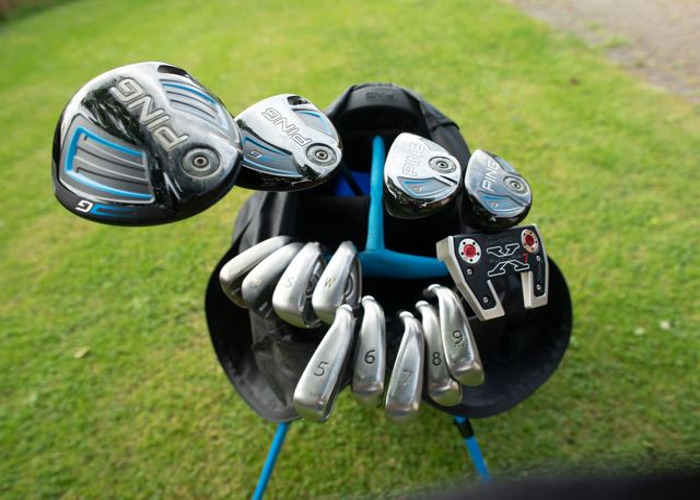 Golf set with accessories - 2