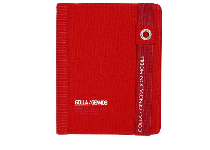 Golla Paz G1332 Portfolio for Apple iPad 2/3rd Generation - Red - 2