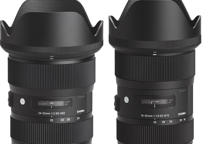 Good quality Sigma 24-35mm f2 Canon Fit  - 1