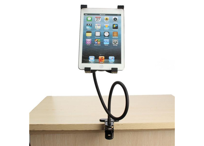 Gooseneck 360° Rotating Lazy Bed Desk Stand Phone Holder Bracket Mount For iPad 2/3/4 Air 5''-9.5'' Tablet PC - 1