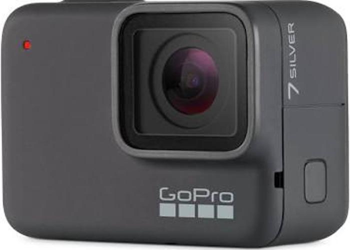 GoPro Go pro hero 7 silver 4k 128GB action camera extras - 2