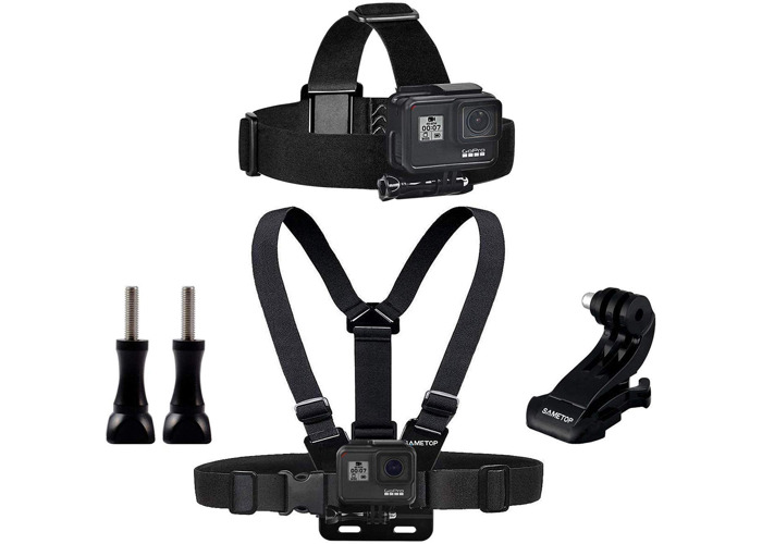 Gopro 8 Balck - Head Strap + Chest mount - 1