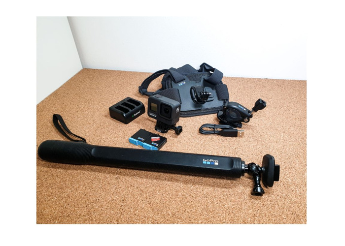 Gopro 8 Balck - with accessories - 1