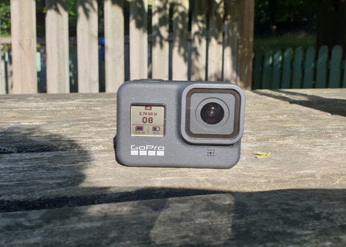 GoPro 8 Hero, SDcard 400Gb, and accessories - 1