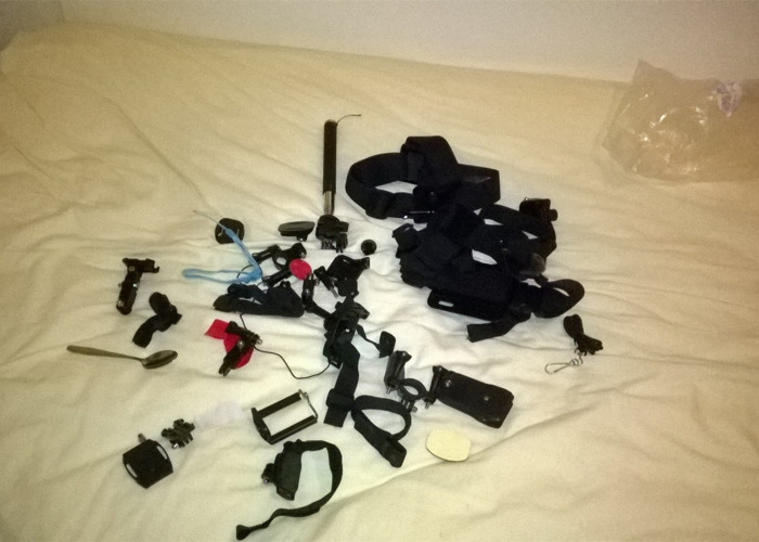 GoPro Full accessory kit -- GoPro Not Included - 1