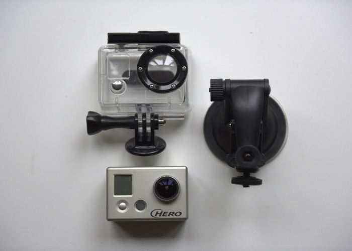 GoPro Hero 1080p Camera - 1
