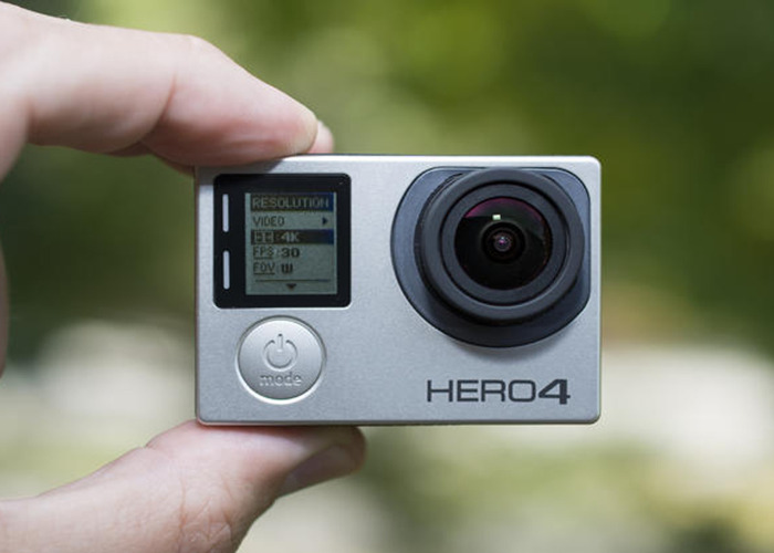 GoPro Hero 4 Camera (Kit + Chesty) go pro body cam - 1