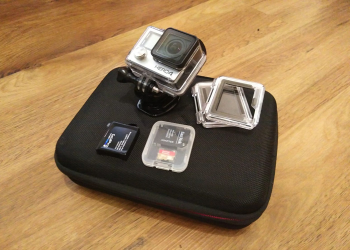 GoPro Hero 4 Camera (Kit + Chesty) go pro body cam - 2
