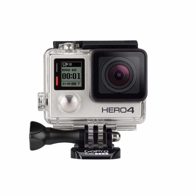 GoPro Hero 4 Silver + Accesories - 1