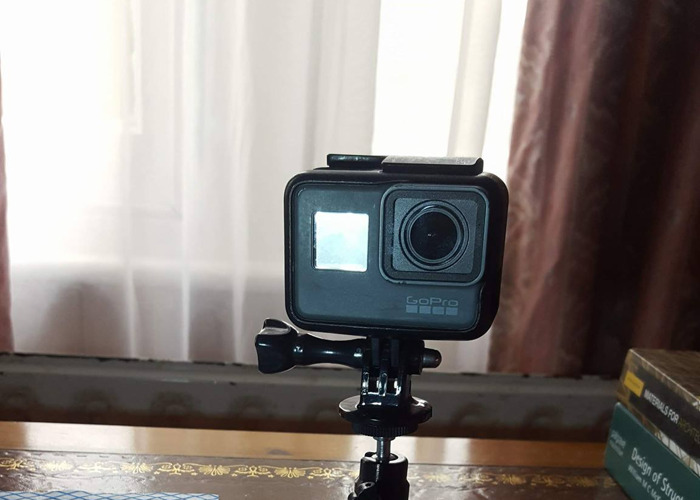GoPro Hero 5 w/ Selfie Stick & portable stand - 1