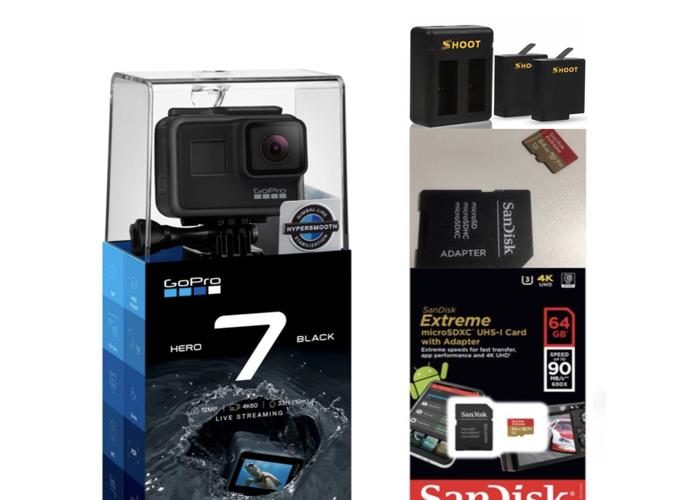 GoPro Hero 7 Black + Accessories - 1