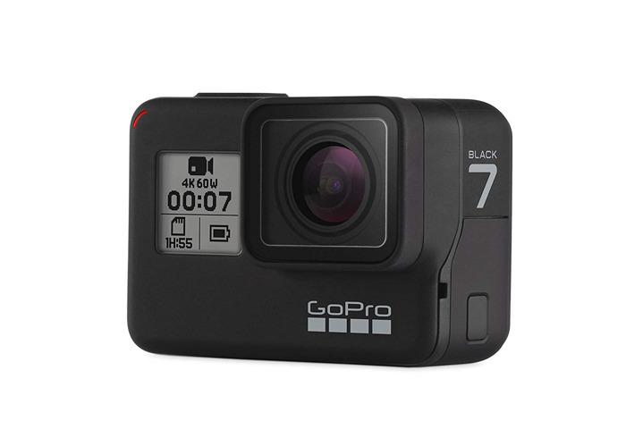 GoPro Hero 7 Black Extreme Sport Action Camera + Accessories - 1