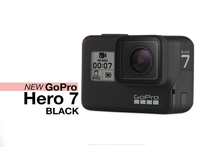 GoPro Hero 7 Black + accessories + 2 batteries Go Pro action camera - 2