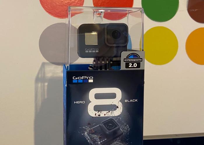 GoPro Hero 8 Black 3xbatteries 64GB Memory Card 50 in 1 accessories  - 1