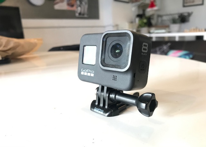 GoPro Hero 8 Black with SD Card and Accessories - 1