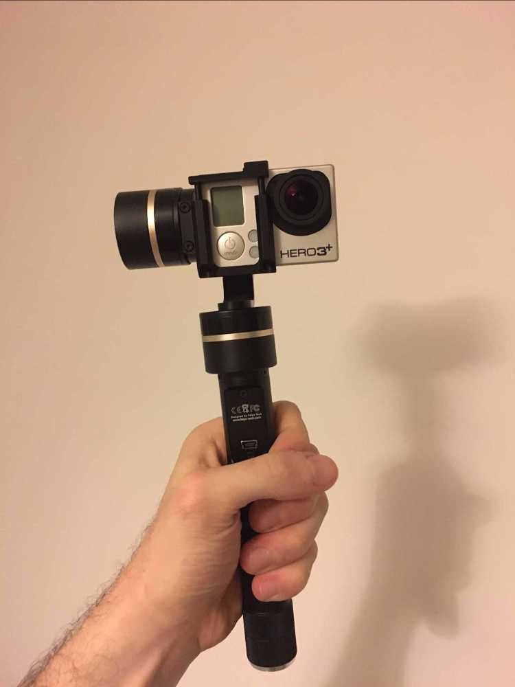 GoPro hero3 + with Stabilizer - 1