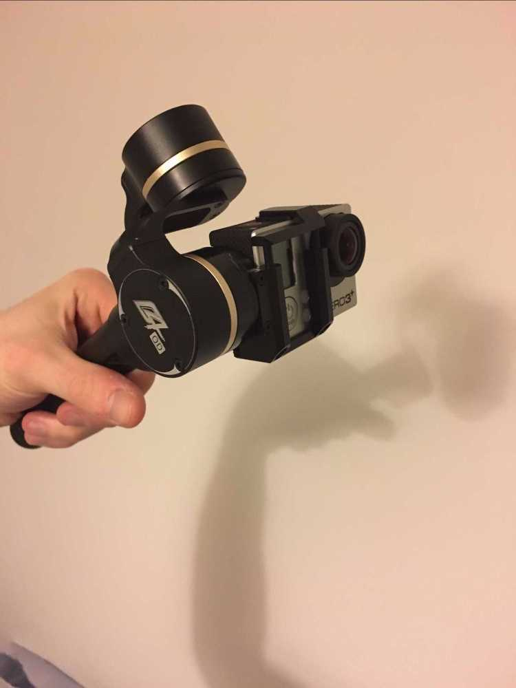 GoPro hero3 + with Stabilizer - 2