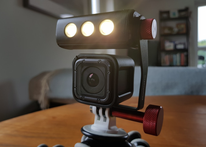 GoPro HERO5 Session 4K HD Action Cam plus Gorillapod and Manfrotto ThrilLED light - 2