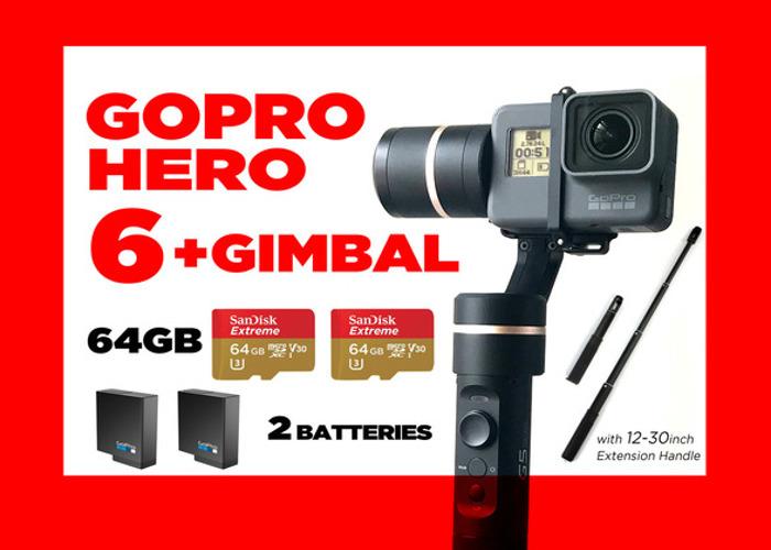 GoPro HERO6 + Gimbal - 1
