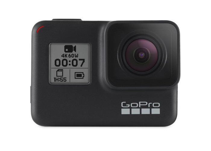 GoPro Hero7 Black Action Camera + Free 32gb Micro SD Card - 1