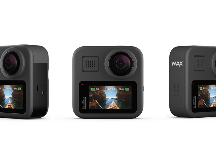 GoPro Max - Waterproof 360 Digital Action Camera with Unbrea - 1