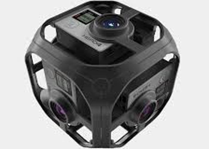 Gopro OMNI Full VR Experience! - 2