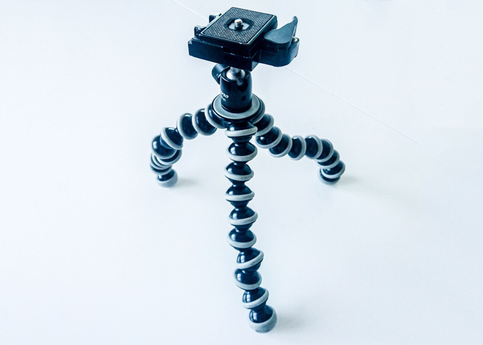 Gorillapod SLR Tripod with Manfrotta and Arc swiss plates and mounts - 1