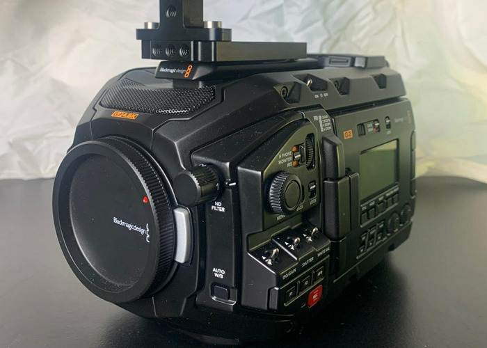 Grade A Blackmagic URSA Mini Pro G2 - EF - 2