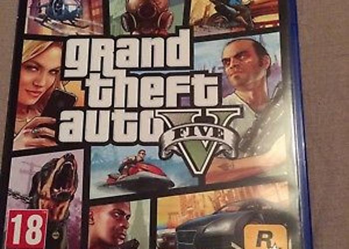 Grand Theft Auto 5 - PS4 - 1