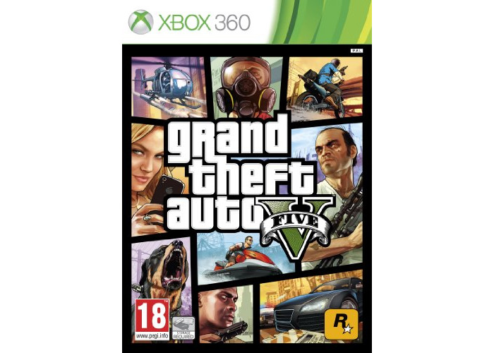 Grand Theft Auto V (Xbox 360) [video game] - 1