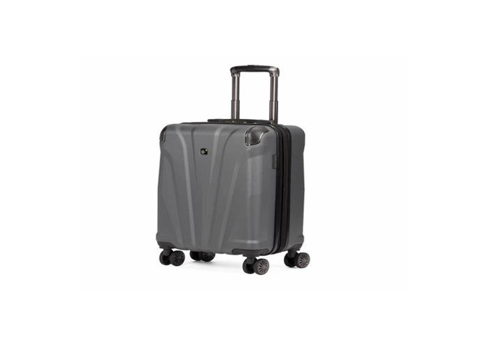Gray carry on suitcase - 1