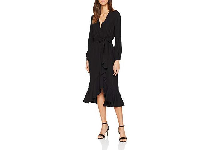 Great Plains Women's Easy Occasion Dress, Black, 16 (Size:XL) - 1