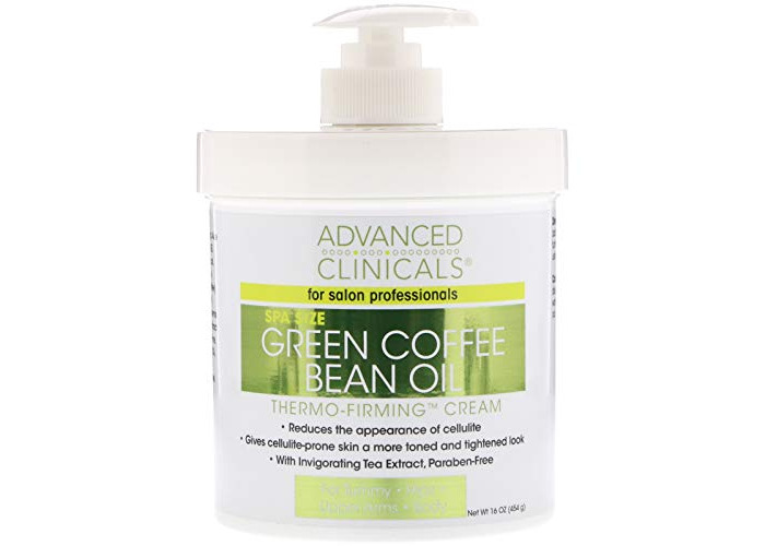 Green Coffee Bean Oil Thermo-firming Cream 16oz Spa Size by Advanced Clinicals - 1