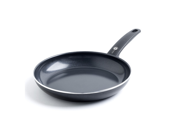 GreenPan Cambridge Infinity Ceramic Frying Pan, Black - 1