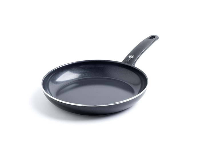 GreenPan Cambridge Infinity Ceramic Non-Stick Frying Pan, Black - 1