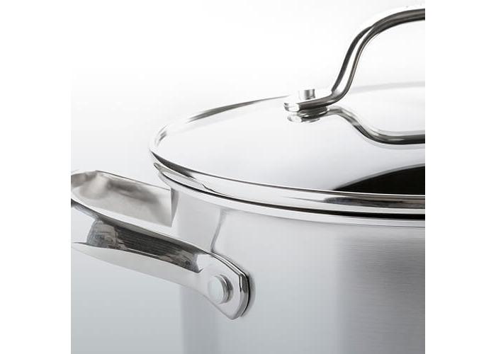 GreenPan Elements Ceramic Non-Stick Stock pot, Stainless Steel, 24 cm - 2