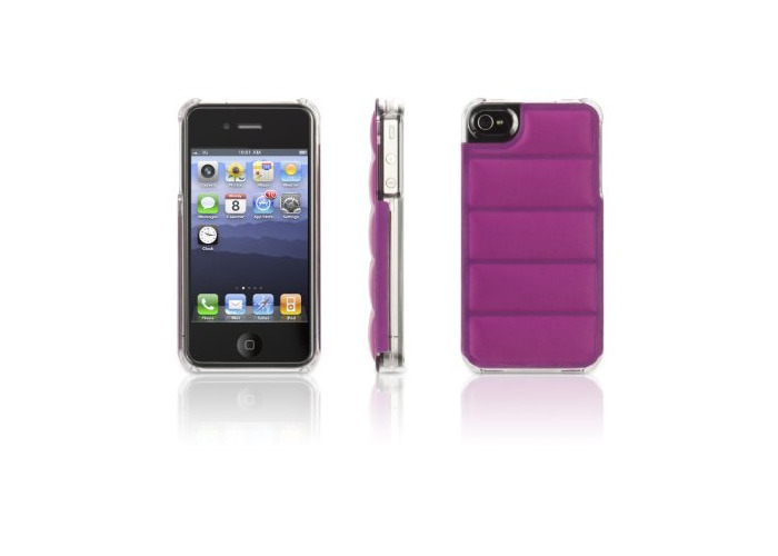 Griffin Elan Form Flight Case for iPhone 4/4S - Orchid - 1