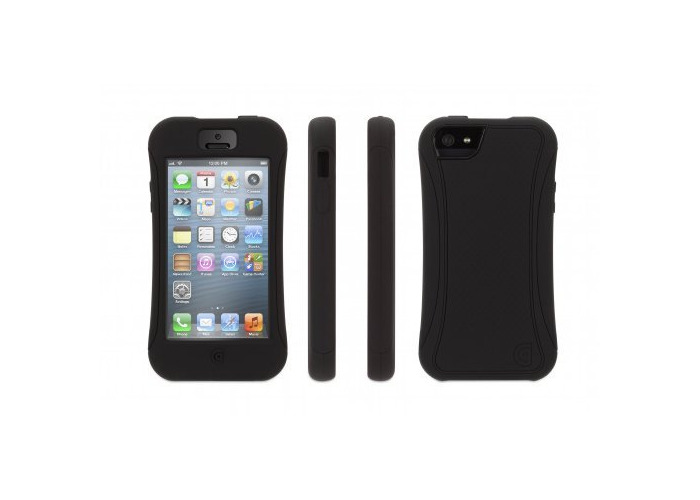 Griffin Explorer Super Protective Case for iPhone 5 - Black - 1