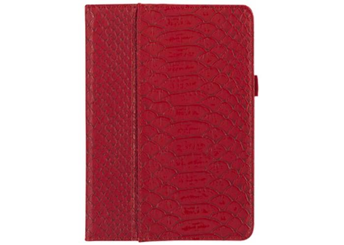 Griffin GB36129 Python Designed Moxy Folio for Apple iPad Mini - Dark Red/Gold - 1