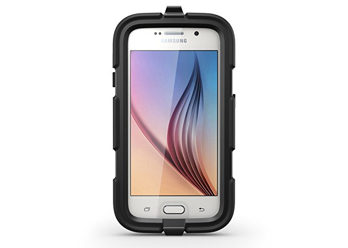 Griffin GB41128 Survivor All Terrain Case for Samsung Galaxy S6 - Black - 2