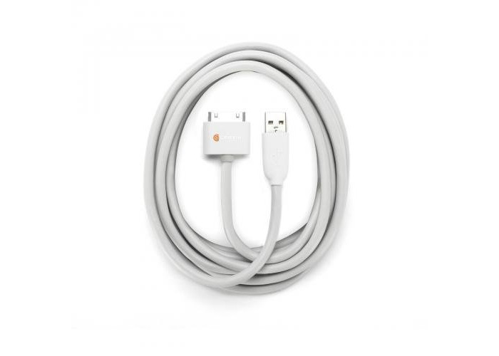 Griffin GC17120 USB cable (GC17120) 3mtr / 10 ft with Apple 30 pin Connector - 2