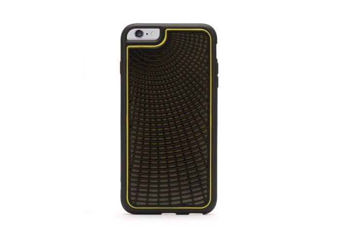 Griffin Identity Performance Case for Apple iPhone 6 Plus - Black/Grey/Yellow - 2